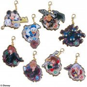 Kingdom Hearts Unchained X[chi] Metal Charm Collection (Set of 8 pieces) (Japan)