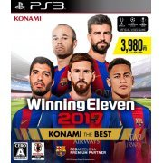 World Soccer Winning Eleven 2017 (Konami the Best) (Japan)