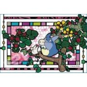 My Neighbor Totoro Art Crystal Jigsaw Puzzle: Okarina wo Fuite (126 Pieces) (Japan)