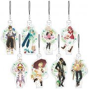 Tales of Zestiria The X Charaviny Strap (Set of 8 pieces) (Japan)