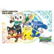 Pokemon Sun & Moon Jigsaw Puzzle: Rowlet, Litten, Popplio, Pikachu (150 Pieces) (Japan)