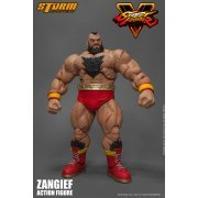Street Fighter V 1/12 Scale Pre-Painted Action Figure: Zangief (Asia)