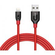 Anker PowerLine+ Lightning Cable 6ft / 1.8m (Red)