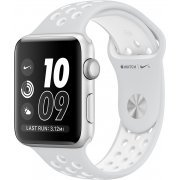 Apple Watch Nike+ Series 2 38mm with Flat Platinum/White Nike Sport Band (Silver) (Hong Kong)