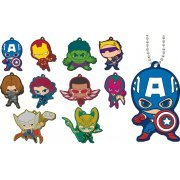 MARVEL The Avengers Chara Rubber Mascot (Set of 10 pieces) (Japan)