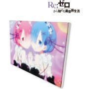 Re:Zero kara Hajimeru Isekai Seikatsu Canvas Art: Rem & Ram (Japan)