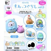 PUTITTO Series Sumikko Gurashi Vol. 2 - Shirokuma Friends (Set of 8 pieces) (Japan)