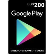 Google Play Card (SGD200 / for Singapore accounts only) (Singapore)
