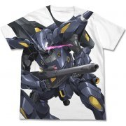 Gundam Build Fighters Kampfer Amazing Full Graphic T-shirt White (L Size) (Japan)