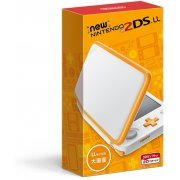 New Nintendo 2DS LL (White x Orange) (Japan)