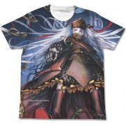 Re:Creators Full Graphic T-shirt White (S Size) (Japan)