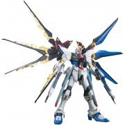 Mobile Suit Gundam 1/100 Scale Model Kit: ZGMF-X20A Strike Freedom Gundam Full Burst Mode (MG) (Japan)