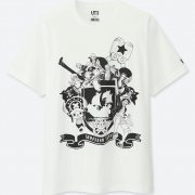Uniqlo One Piece Straw Hat Pirates Men's T-shirt (M Size) (Japan)