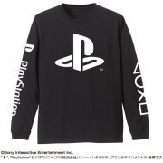 PlayStation Long Sleeve T-shirt Black (L Size) (Japan)