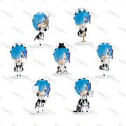 Re:Zero kara Hajimeru Isekai Seikatsu Collection Figure: Rem Otetsudai Series (Set of 8 pieces) (Japan)