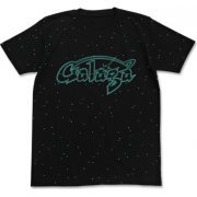 Galaga - Logo All Print T-shirt Black (S Size) (Japan)