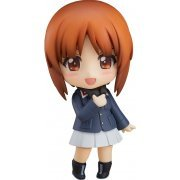Nendoroid No. 825 Girls und Panzer das Finale: Miho Nishizumi Panzer Jacket & Peacoat Ver. [Good Smile Company Online Shop Limited Ver.] (Japan)