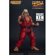 Ultra Street Fighter II The Final Challengers Pre-Painted Action Figure: Violent Ken (Asia)