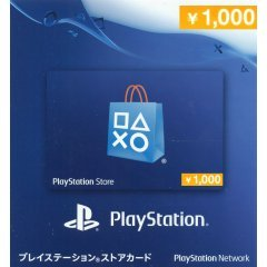 Playstation Network Card 1000 YEN | Japan Account