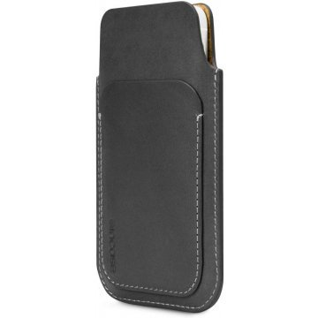 incase leather pouch for iphone 5c 5s blacktan 367151