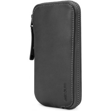 incase leather zip wallet for iphone 5c 5s blacktan 367159