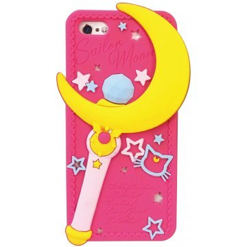 gourmandise sailor moon iphone55s silicon jacket moon stick slm1 368331