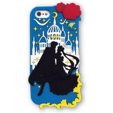 gourmandise sailor moon iphone55s silicon jacket silver millenni 368341