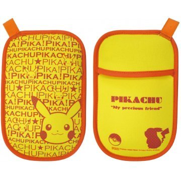 pokemon portable multi pouch pikachu poke516a 379533