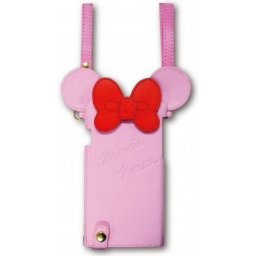 gourmandise disney iphone 6 diecut leather case with neck strap 395619