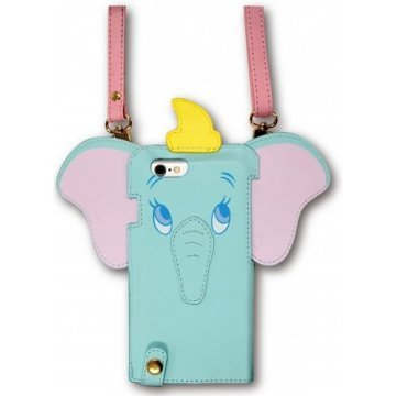 gourmandise disney iphone 6 diecut leather case with neck strap 395621