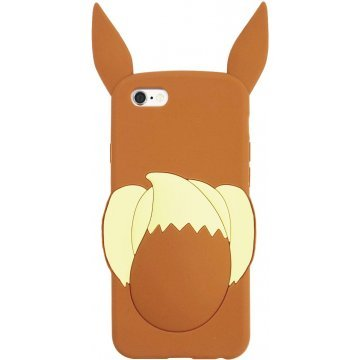 gourmandise pokemon iphone 6 silicone jacket eevee poke518b 395625