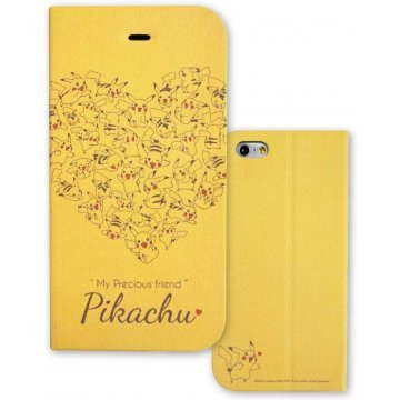 gourmandise pokemon iphone 6 flip case magnet type pikachu heart 398377