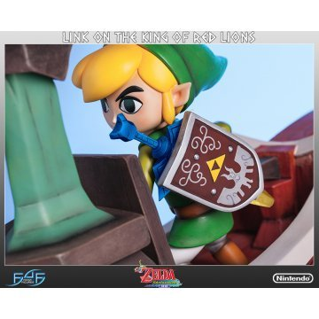 Legend Of Zelda The Wind Waker Statue Link On The King Of