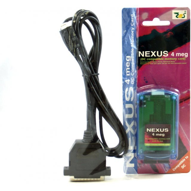 Nexus Memory Card 4M (incl. free transfer cable)