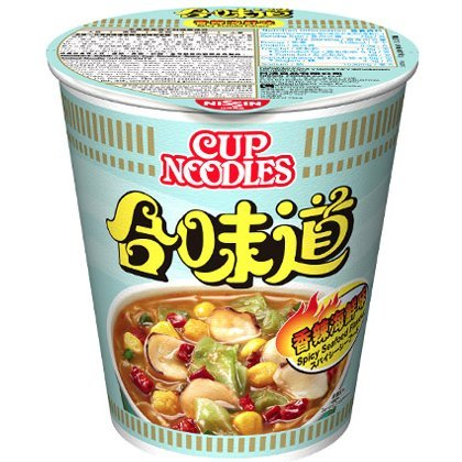 Nissin Cup Noodles - Spicy Seafood Flavor