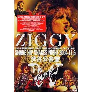 Ziggy 20th Anniversary Memorial Live Shibuya Kokaido 2 Days: Vicissitudes of Fortune - Snake Hip Shakes Night 2004.11.6