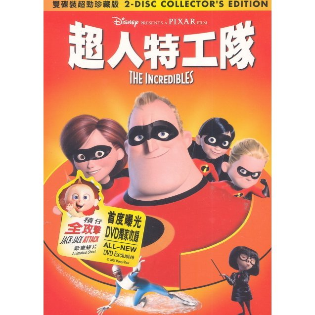 The Incredibles [2-Disc Collector's Edition]