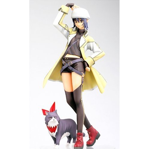 Shikigaminoshiro II 1/8 Scale Pre-Painted PVC Figure: Niigi Gorgeous Blue