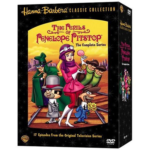 The Perils of Penelope Pitstop: The Complete Series Complete DVD Box