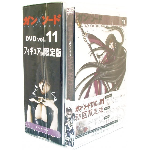 Gun x Sword Vol.11 [DVD+Figure Limited Edition]