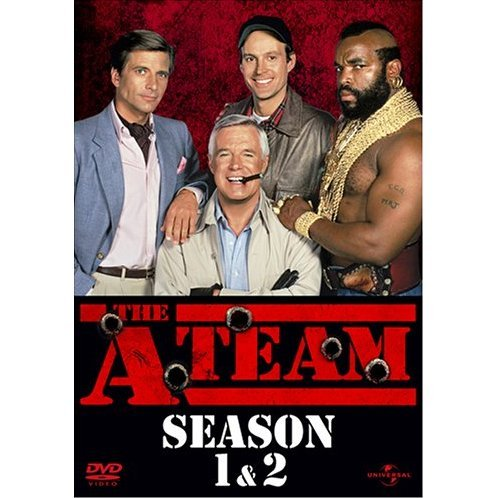 The A-Team Season 1&2 Pack Complete DVD Box [Limited Edition]