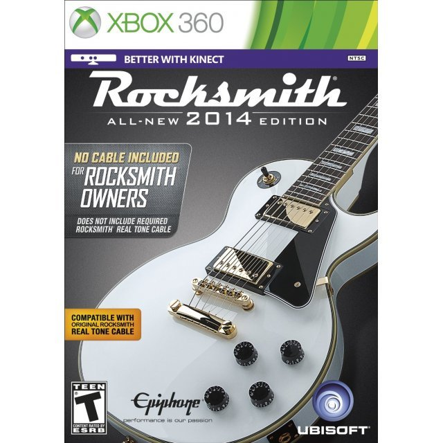 Rocksmith 2014 Edition (Game Only)
