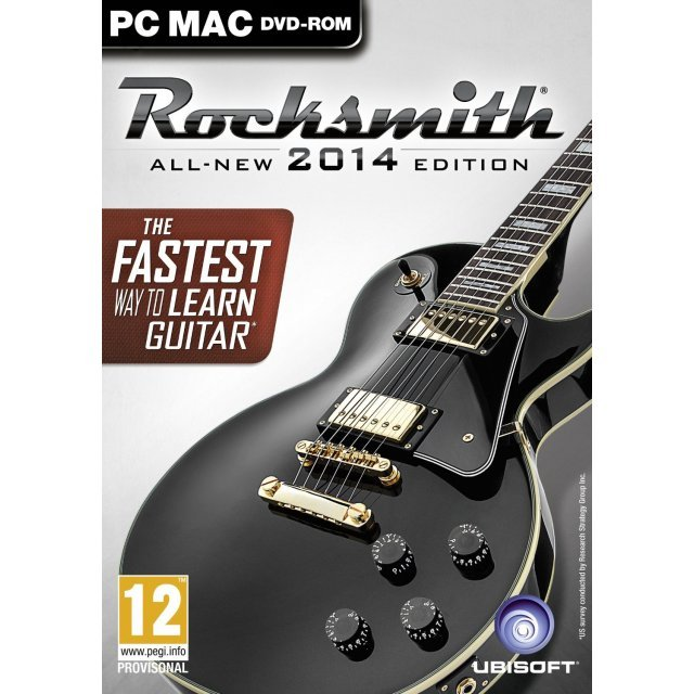 Rocksmith 2014 Edition (Game Only) (DVD-ROM)