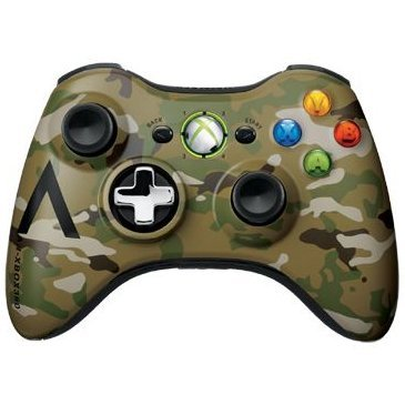 Xbox 360 Wireless Controller - Special Edition (Camouflage)