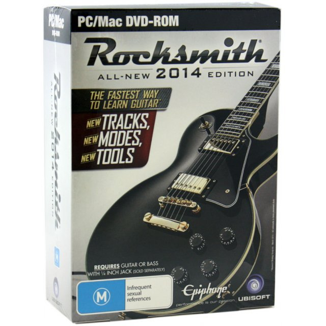 Rocksmith 2014 Edition (w/ Cable) (DVD-ROM)