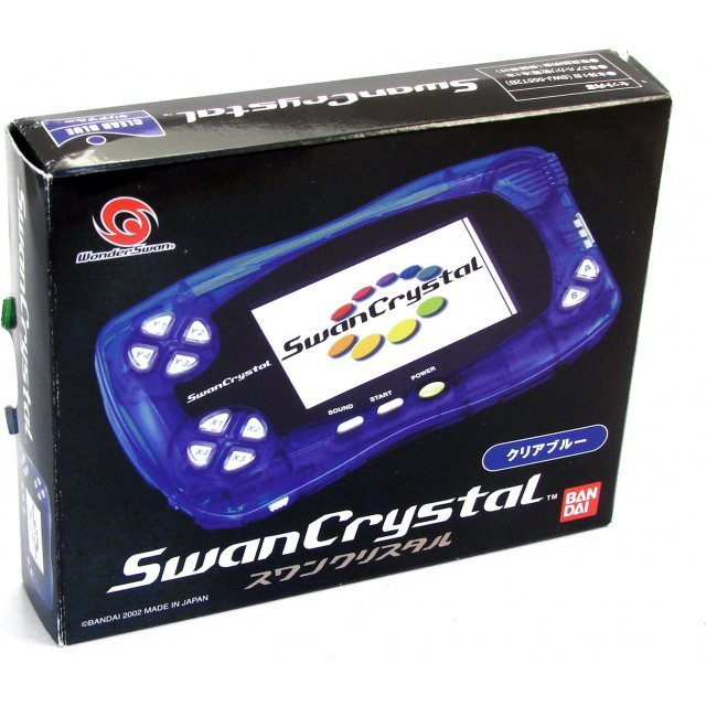WonderSwan Crystal Console - Clear Blue