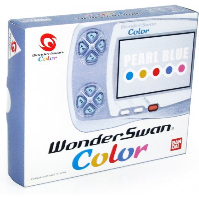 WonderSwan Color Console - Pearl Blue