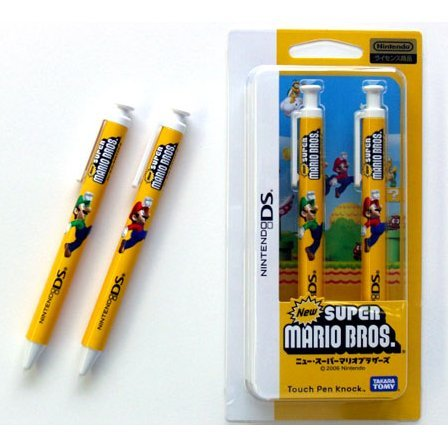 New Super Mario Bros Touch Pen Set (2pcs)