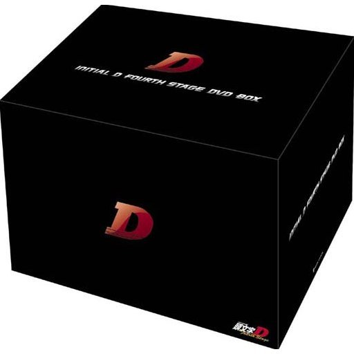 Initial D Fourth Stage DVD Box [Limited Edition]