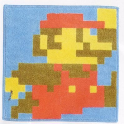 Super Mario Bros. Dot Design Mat: Type A Mario